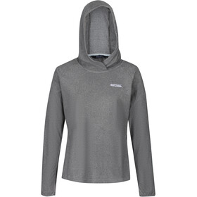 Regatta Montes Hoody Women, light steel/black